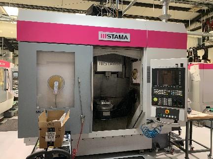 Stama MC 533 5-Axis HS VMC 2014, with: Siemens 840D Control, 19