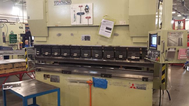 1996, Toyokoki, APB-8025, 8' x 88 Ton, Servo Electric Press Brake