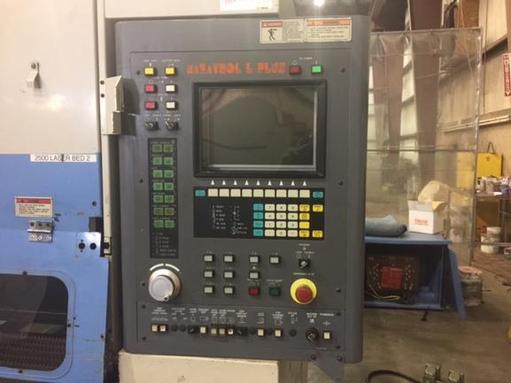 2000, Mazak STX48 Hi Pro, 4x8, 2500 Watt Co2 Laser