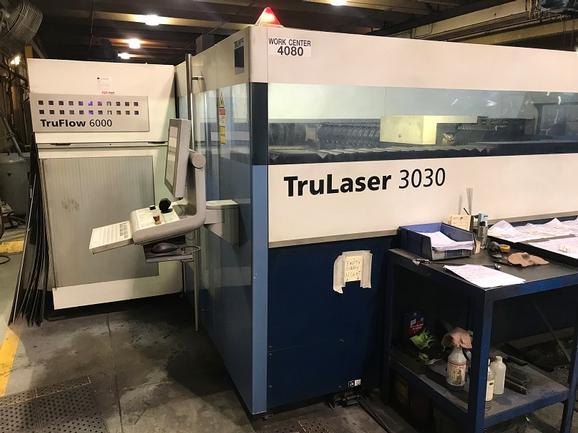 2011, Trumpf Trulaser 3030, 5x10, 6000 Watt Co2 Laser