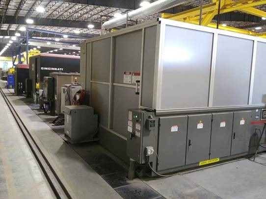 2012 Cincinnati, CL940, 6' x 12', 4000 Watt Fiber Laser