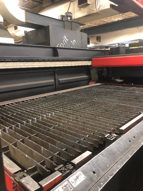 2002 Amada, FO4020, 6x12, 4000 Watt Co2 Laser