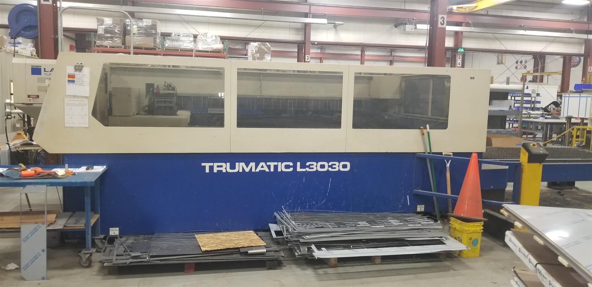 2000 Trumpf, L3030, 5' x 10', 4000 Watt Co2 Laser