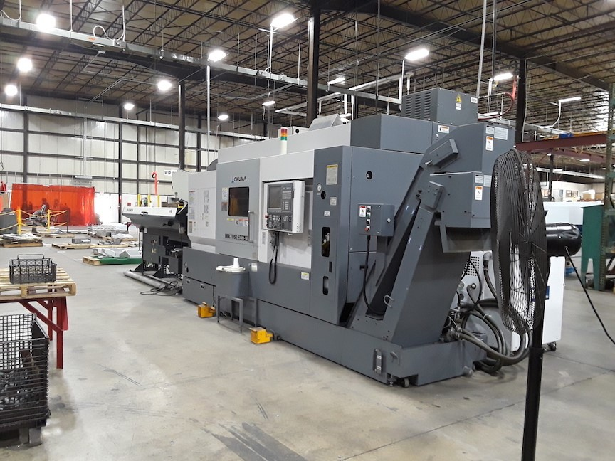 OKUMA MULTAS B 300W CNC MILL TURN CENTER WITH SUBSPINDLE AND BARFEED