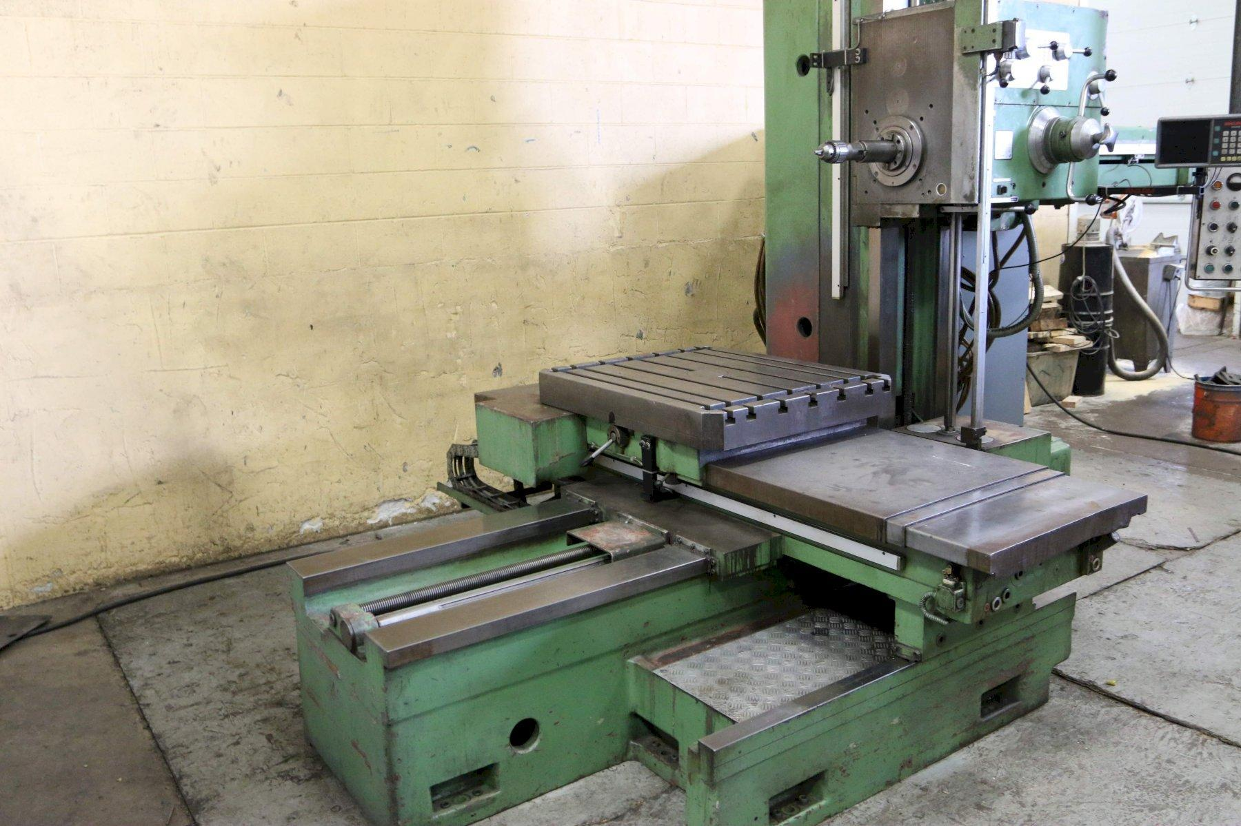 3' WOTAN MODEL #B75-M ROTARY TABLE BORING MILL: STOCK 71517