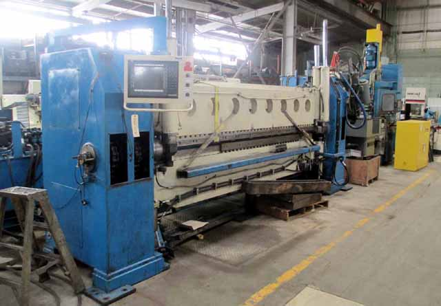"10'  x 3/16"" Ystadt Model KMD 3150x4 CNC 5-Axis Double Bending Hydraulic Bending & Folding Machine"