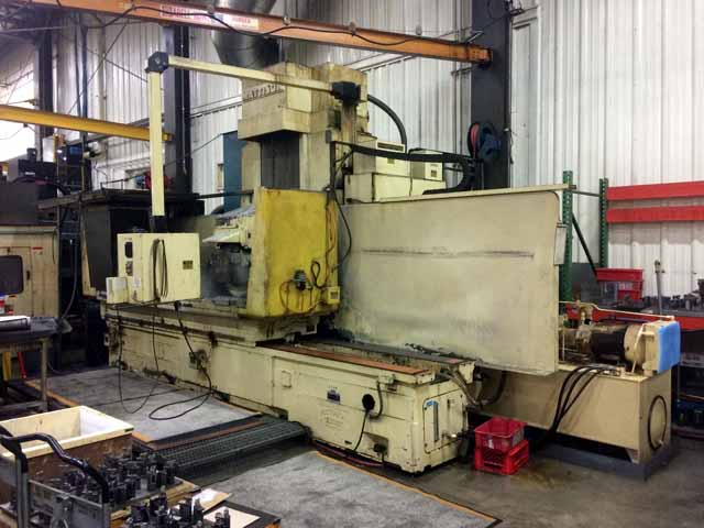 "24"" x 72"" Mattison Hydraulic CNC Automatic Surface Grinder"