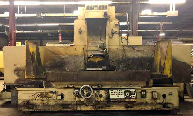 "24"" x 72"" Mattison Hydraulic Surface Grinder"