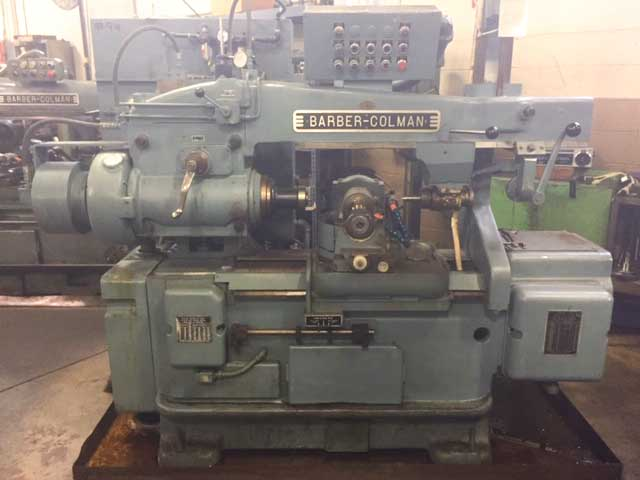 No. 16-16 Barber-Colman Gear Hobbing Machine