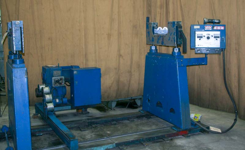 10,000 lb. Raydyne LM-10000 Horizontal Dynamic Balancing Machine