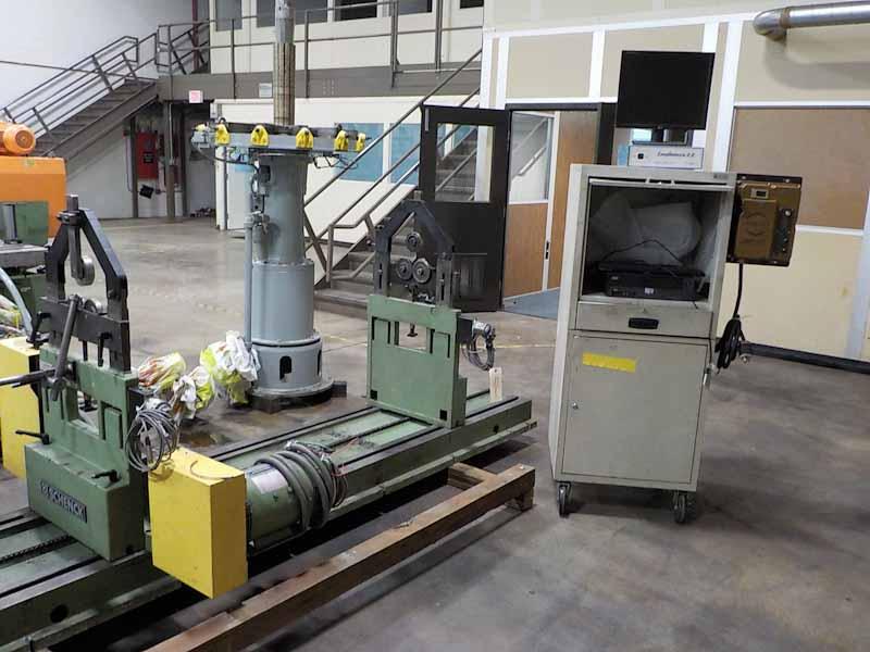 5000 lb Schenck Model H40BU Horizontal Balancing Machine