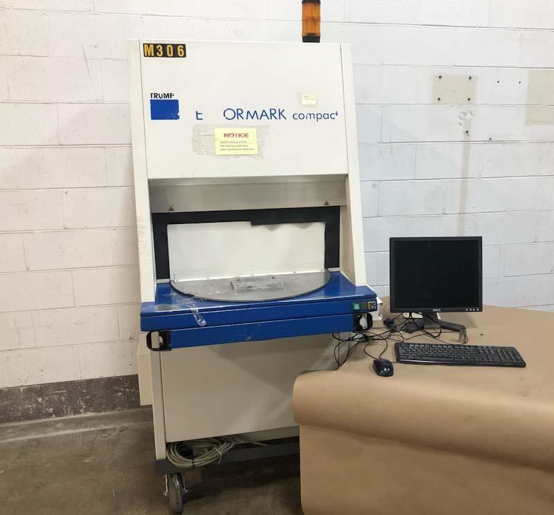 Trumpf Vectormark Laser Marking System