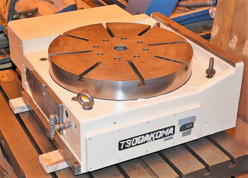 "24.8"" Tsudakoma Model RNCM 631R CNC 4th-Axis Rotary Table"