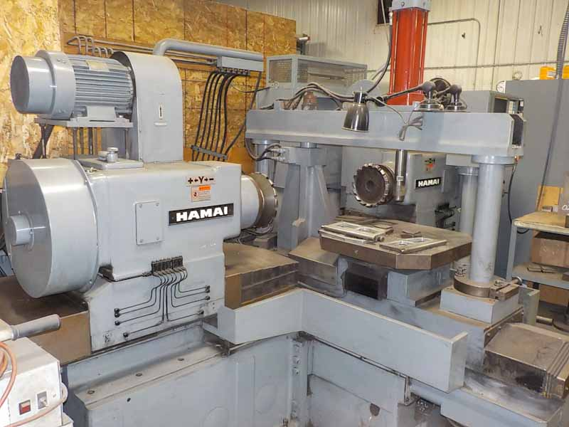 Hamai Model 2DSA CNC Duplex Milling Machine