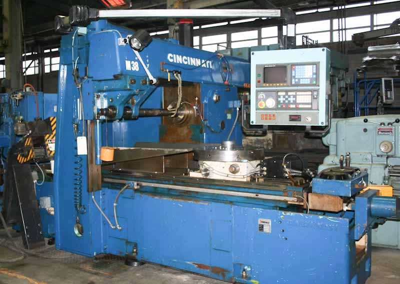 530-224 Cincinnati Rise & Fall CNC Simplex Production Mill