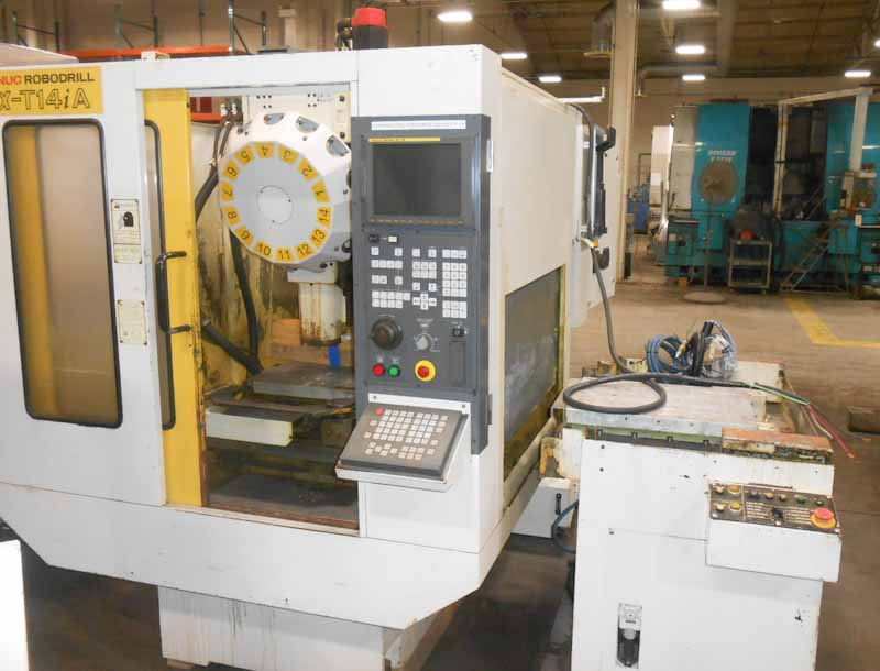 Fanuc Robodrill T14iA 3-Axis CNC Drill & Tap Center