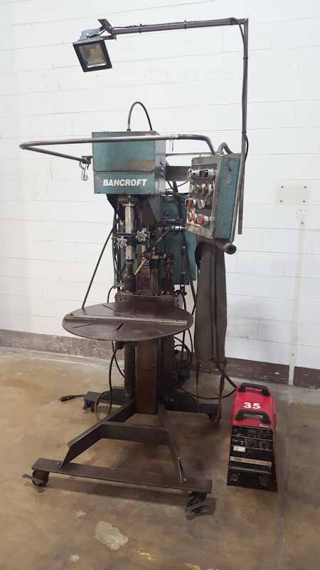 Bancroft Model Weld-A-Round 300 Rotary Mig Welder