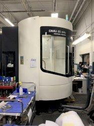 2013 DMG Mori DMU 80 evo  w/Pallet Changer CNC 5-Axis Vertical Machining Center
