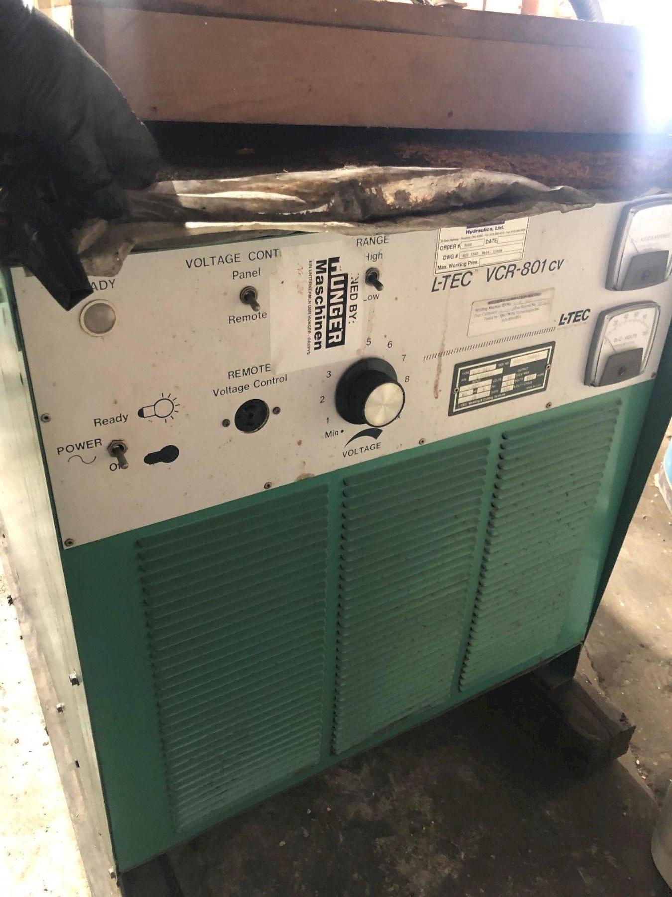 L-TEC VCR-801 cv Welder
