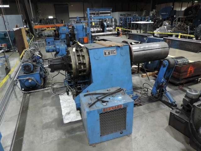 "20,000# x 48"" Terminal Equipment Uncoiler"