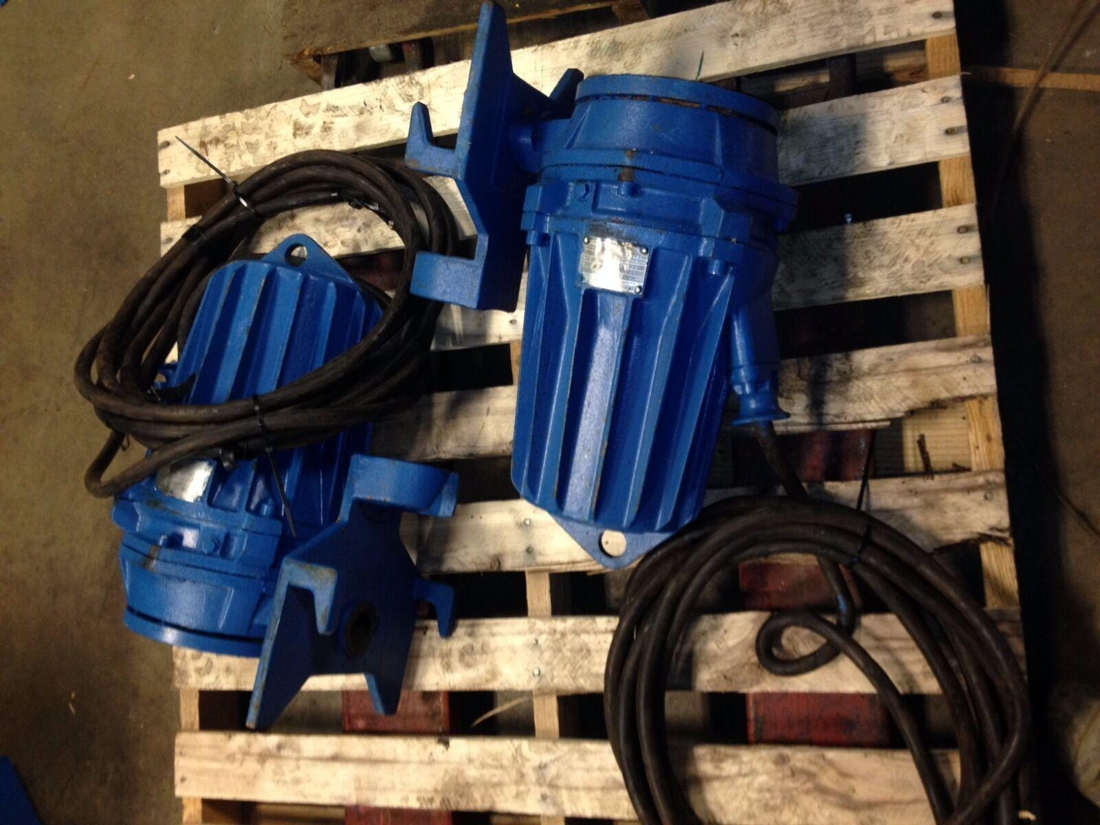 ABS Pump Piranha Submersible Grinder Pump