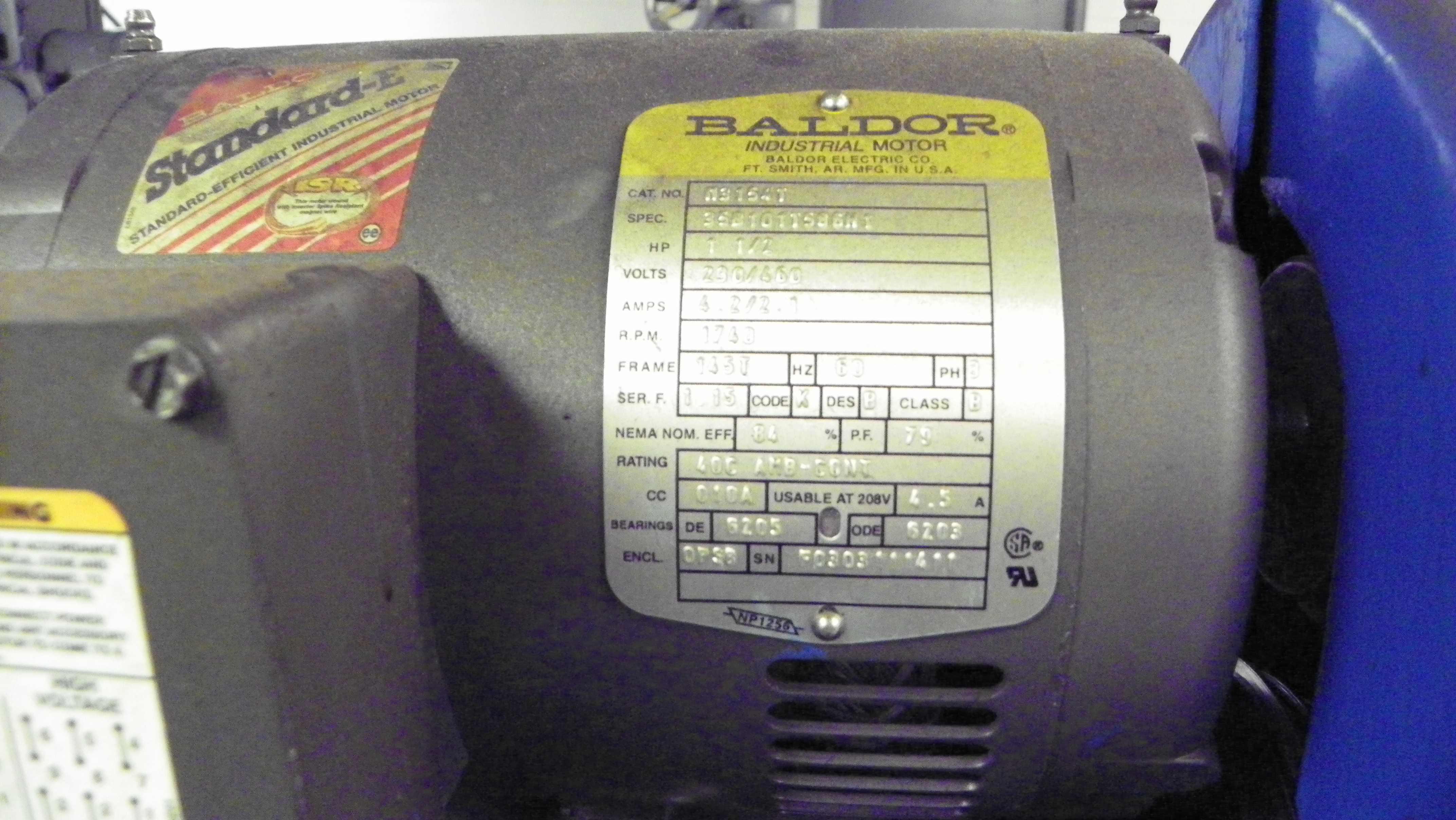Sunnen Model 1800 Power Stroke Honing Machine, S/N 73633. Offered for parts / rebuild.