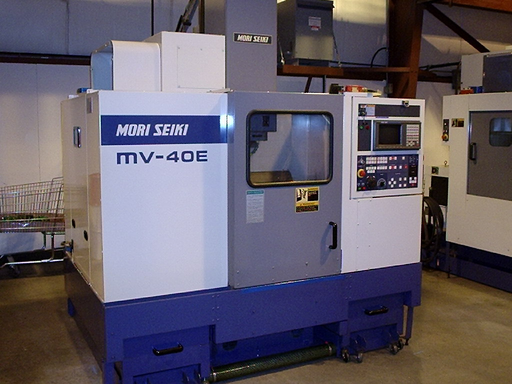 "MORI SEIKI ""MV-40E"" CNC Vertical Machining Center"