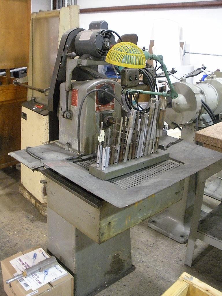 Superior Model J Horizontal Honing Machine, S/N 51-5207.