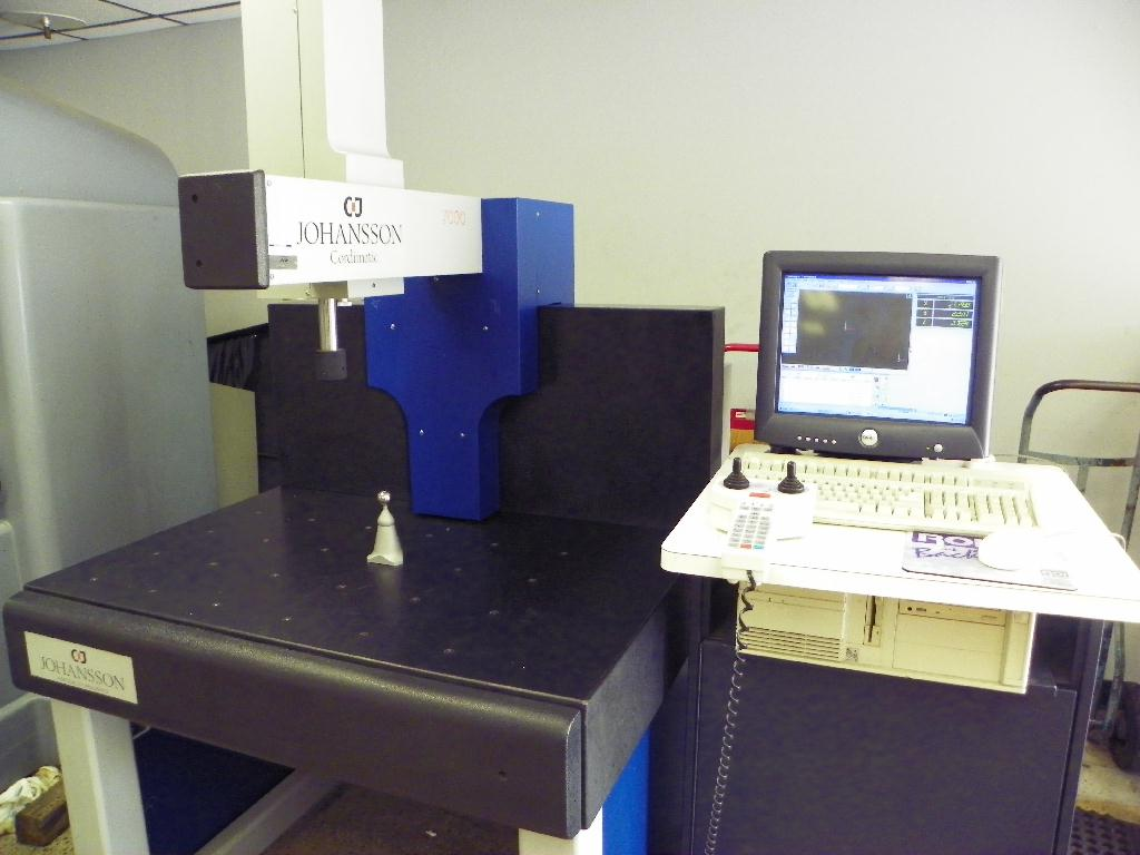 AB C.E. JOHANSSON DCC Coordinate Measuring Machine (CMM), S/N 8484-71148, New Approx 1999.