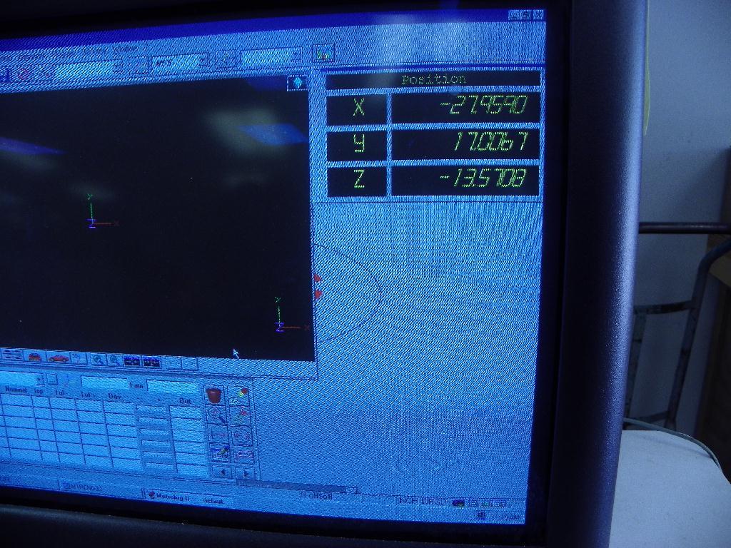 AB C.E. JOHANSSON DCC Coordinate Measuring Machine (CMM), S/N 8484-71148, New Approx 1999.
