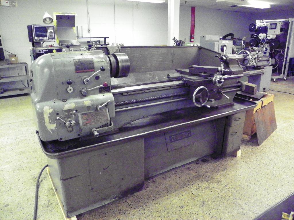 """15"""" x 48"""" CLAUSING-COLCHESTER Geared Head Engine Lathe, S/N F4/62252, New Approx 1967. AVAILABILITY PENDING"""