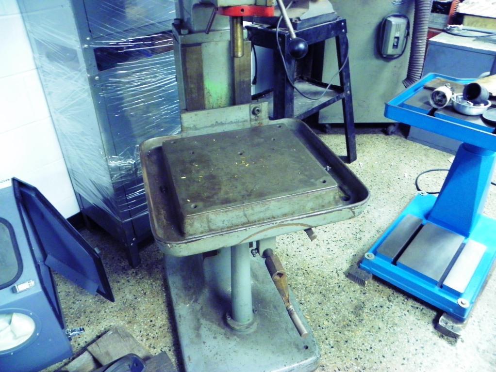 Edlund Model 1 1/2 F 7 High Speed Drill Press, S/N 69256, New 1969.