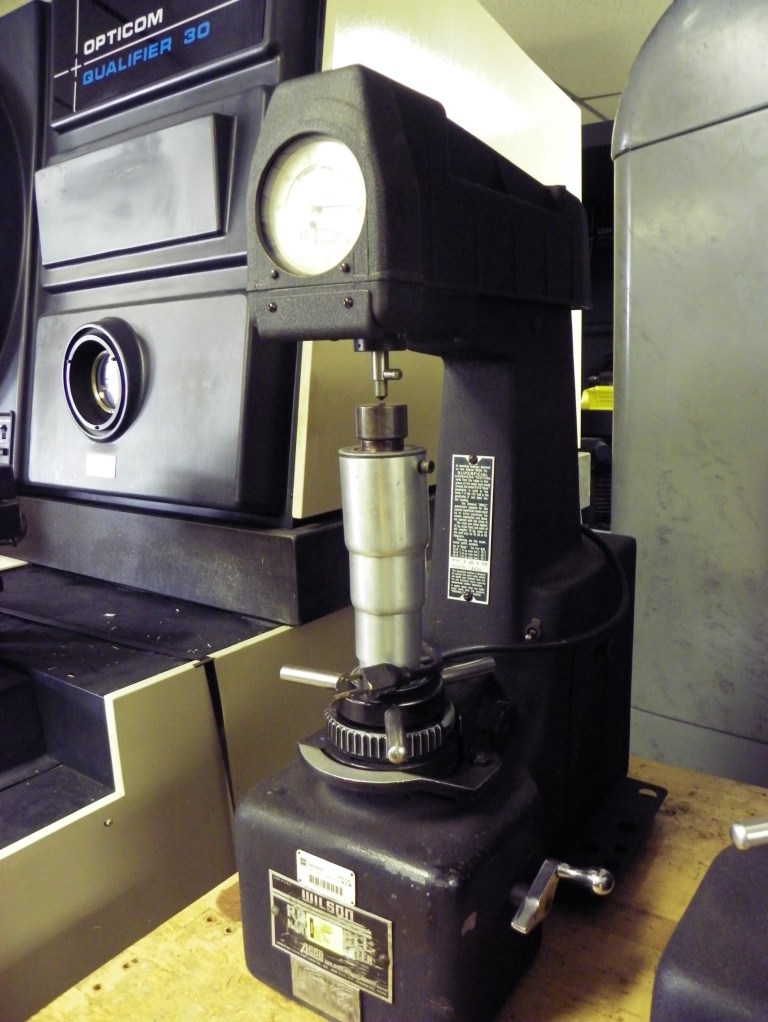 WILSON ROCKWELL Model 3JS b RB Superficial Hardness Tester, S/N 4632.