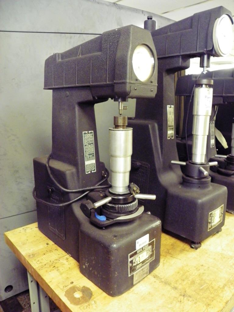 WILSON ROCKWELL Model 3JS b RB Superficial Hardness Tester, S/N 4632.