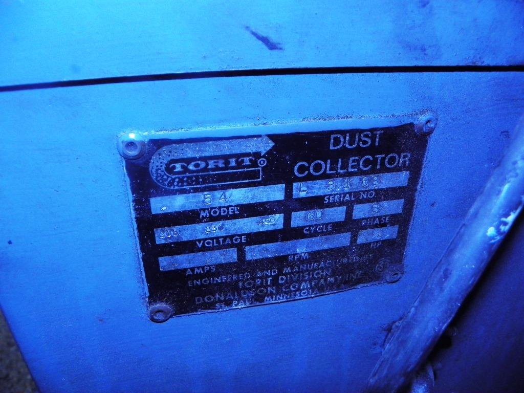 Torit Model 54 Dust Collector, S/N L-3168.