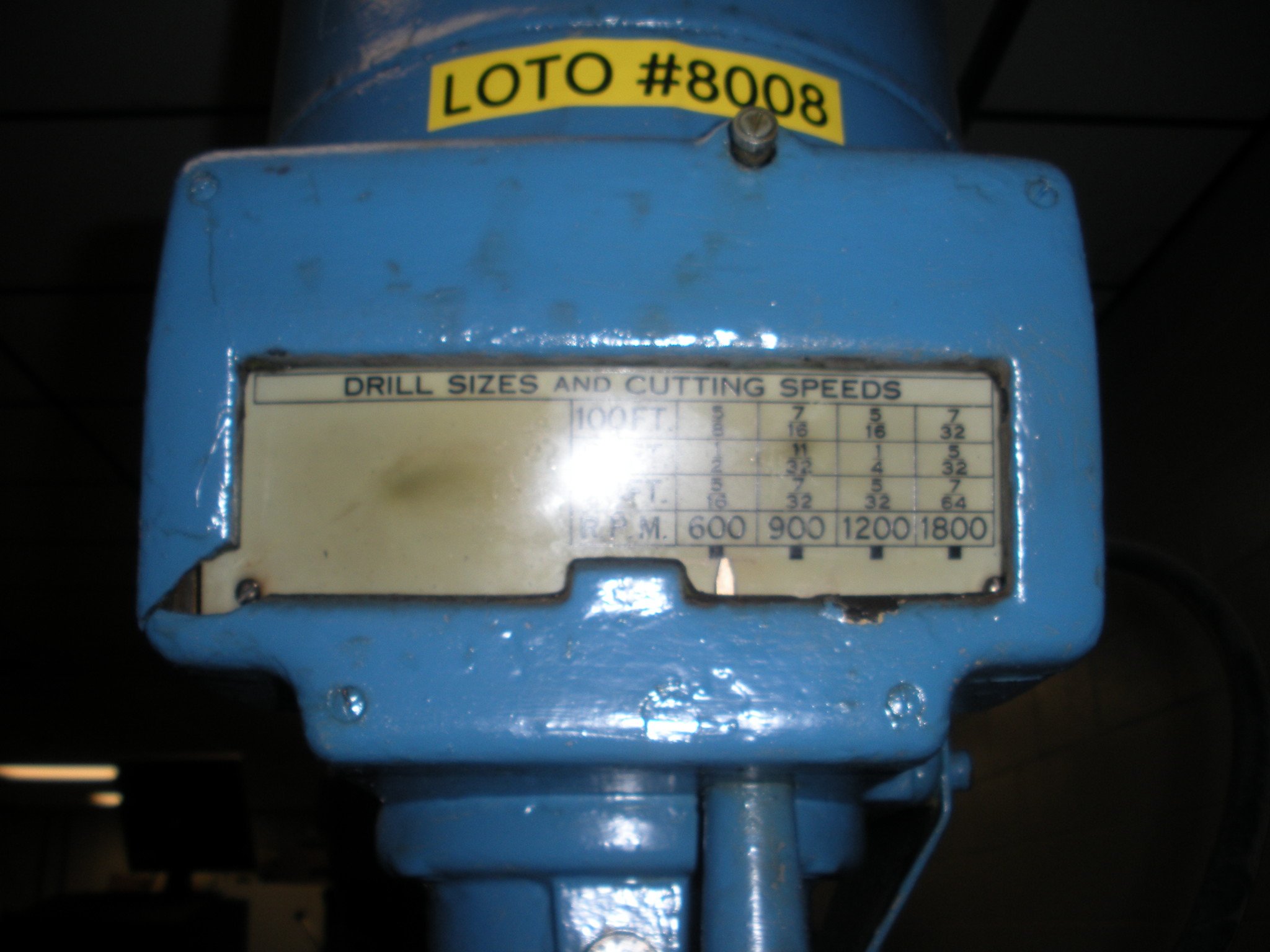 Leland-Gifford Single Spindle Drill Press