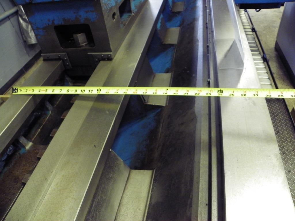 "39""/120"" x 98""/157""BINNS & BERRY Universal Sliding Bed Gap Lathe, S/N 80262, New 2002."