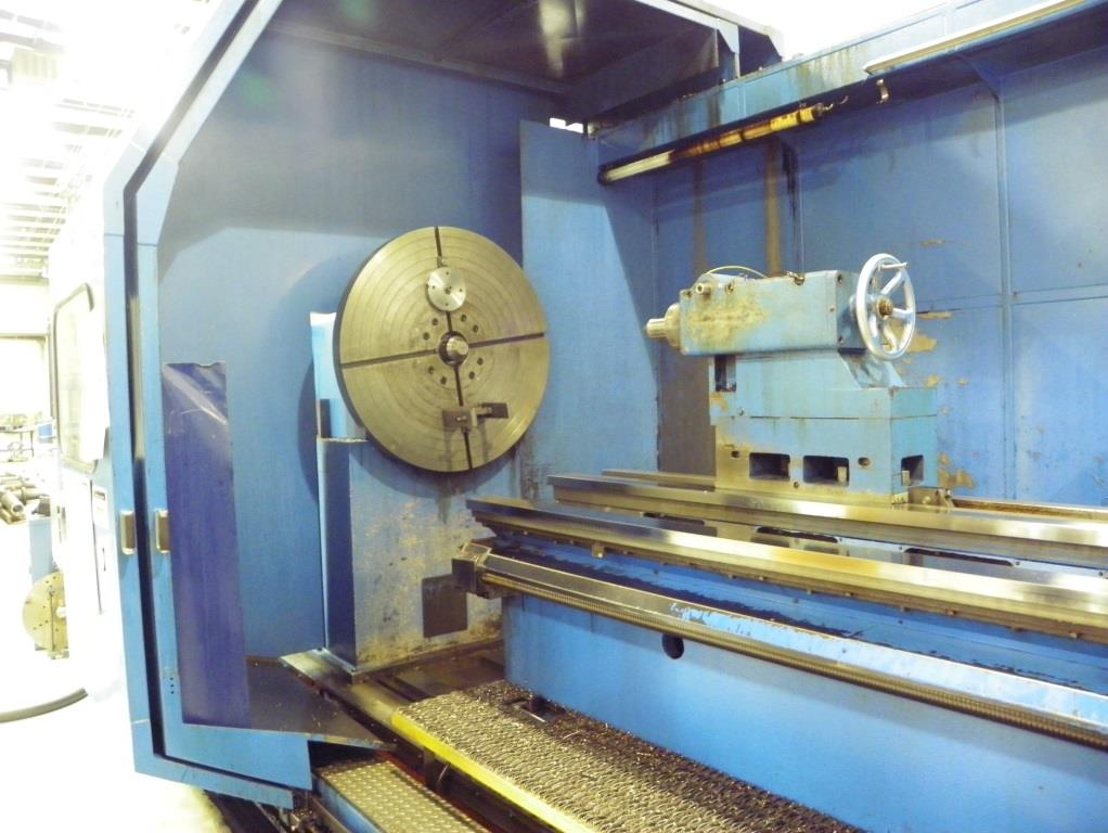 "39""/120"" x 98""/157""BINNS & BERRY Universal Sliding Bed Gap Lathe, S/N 80262, New 2002."
