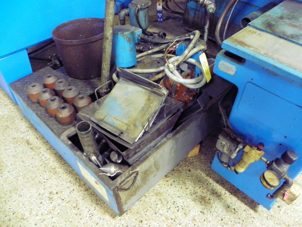 """10"""" x 24""""/30"""" Cincinnati-Milacron Series 370 Model DA Plain Hydraulic Cylindrical OD Grinder, S/N 35372B76-0001, New 1976."""