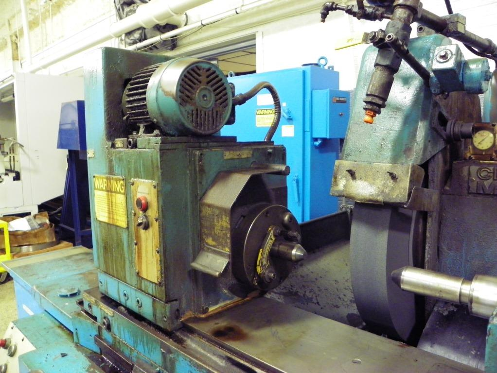 "10"" x 24""/30"" Cincinnati-Milacron Series 370 Model DA Plain Hydraulic Cylindrical OD Grinder, S/N 35372B76-0001, New 1976."