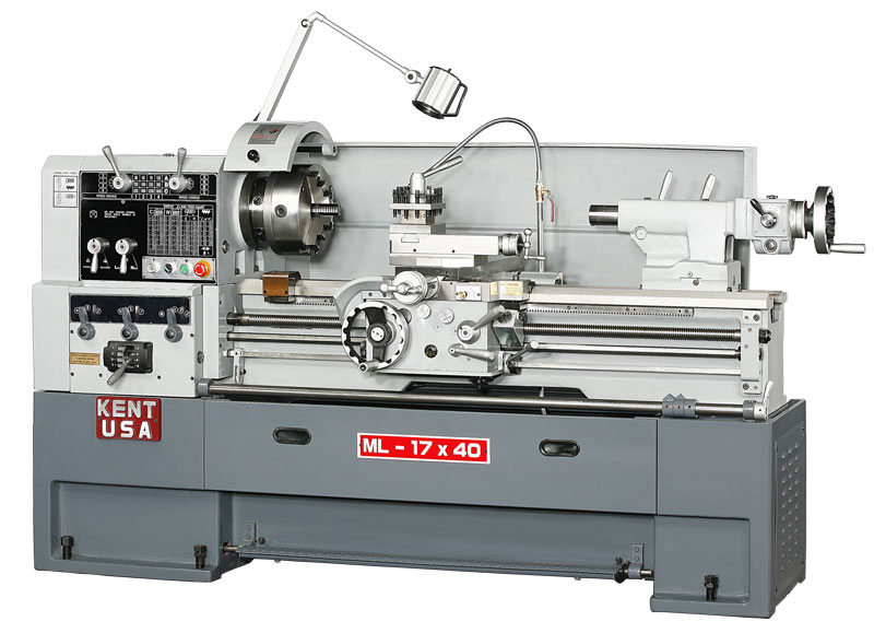 Kent USA ML-1740 Engine Lathe