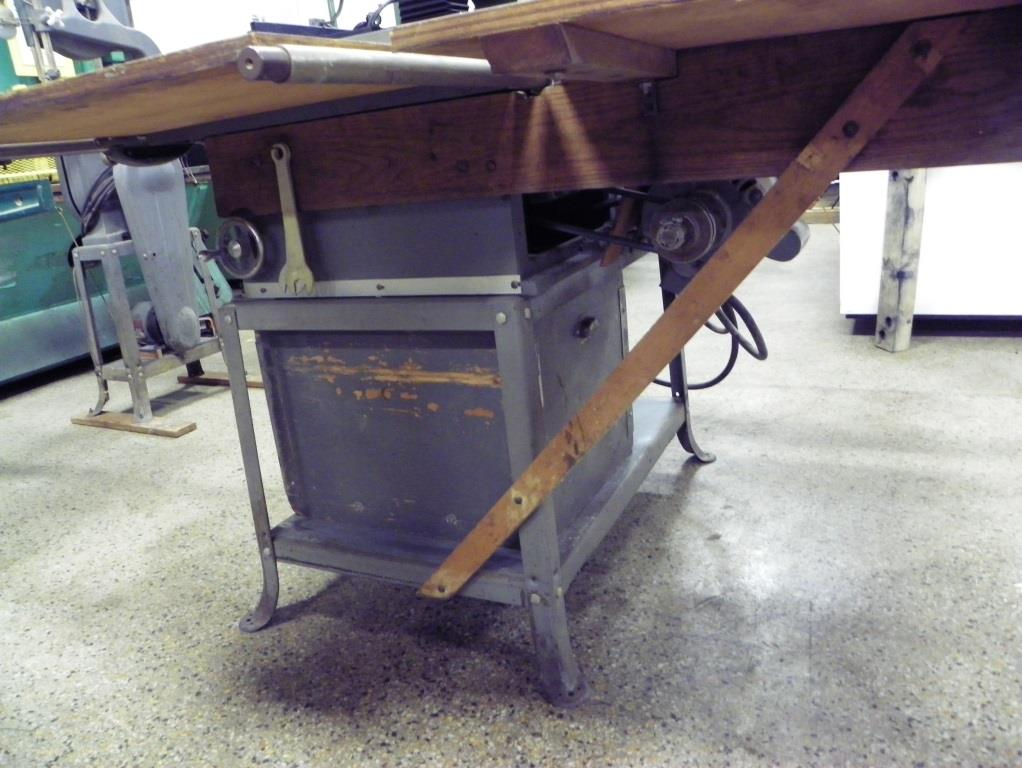 """Delta-Rockwell 10"""" Table Saw , S/N CB3735,CB5802."""