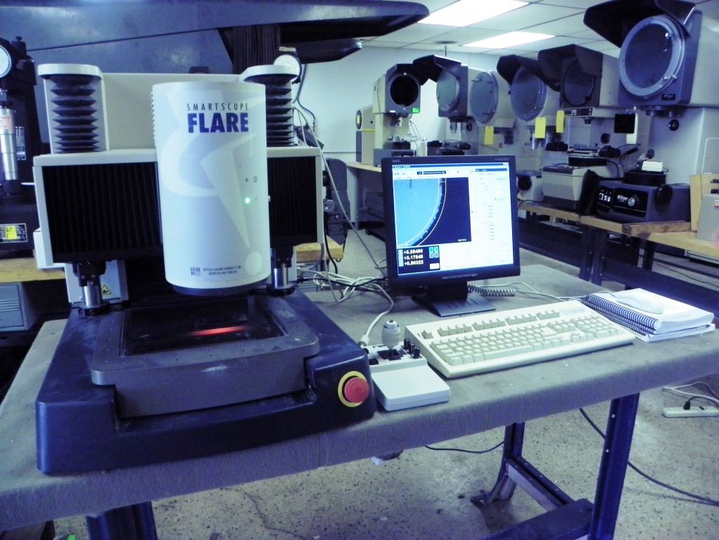 OGP Flare Smartscope Video Measuring Machine, S/N SVR1335, New January 2001.