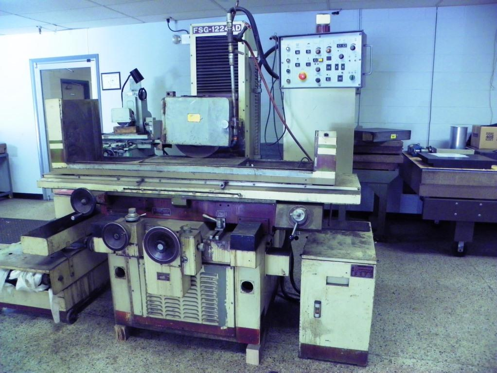 "12"" x 24"" CHEVALIER Model FSG-1224AD Hydraulic Automatic Surface Grinder, S/N 36355M, New 1987."