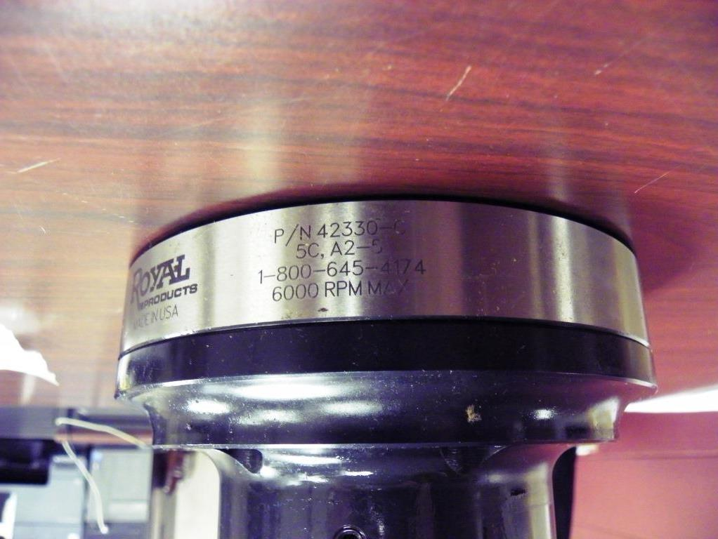 Royal 5C Collet Chuck A2-5 Mount / Acuu-Length P/N 42330-C.