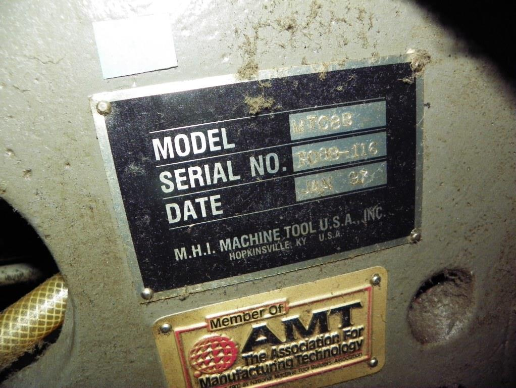 MITSUBISHI Model M-TC8B CNC Turning Center, S/N T08B116 , New 1997.