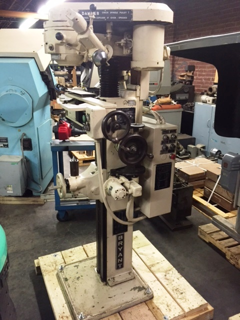 Bryant Center Hole Grinding Machine, S/N C14825, New approx 1972.