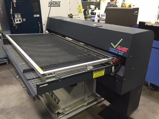 LNS Quick Load Q.L. Servo S3 Automatic Magazine Barfeeder, S/N 302951.
