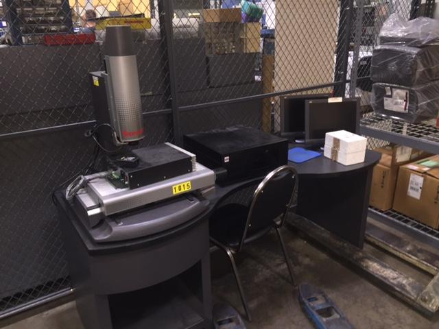 Starrett Model AV612-5 CNC Vision System - Video Inspection Machine, S/N GA-0128-1103.