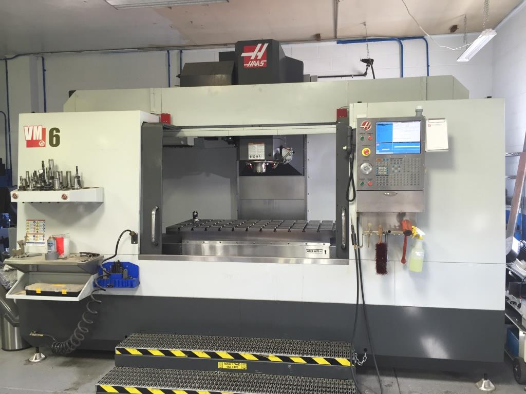 HAAS VM-6 High Performance VMC Mold Making Machine, New 2015.